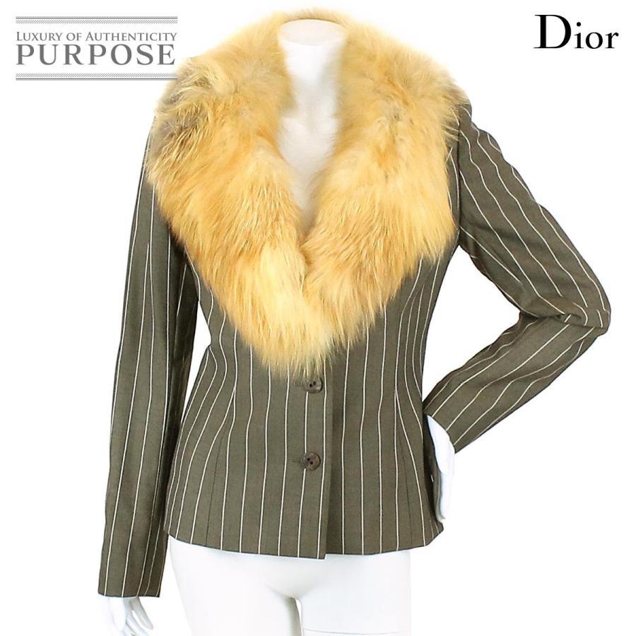 【人気商品】 クリスチャン ディオール Christian Dior ジャケット ウール ブラウン テーラード 柄 38 サイズ フォックス レディース, カーアクセサリーストア【SOVIE】 8c53f418