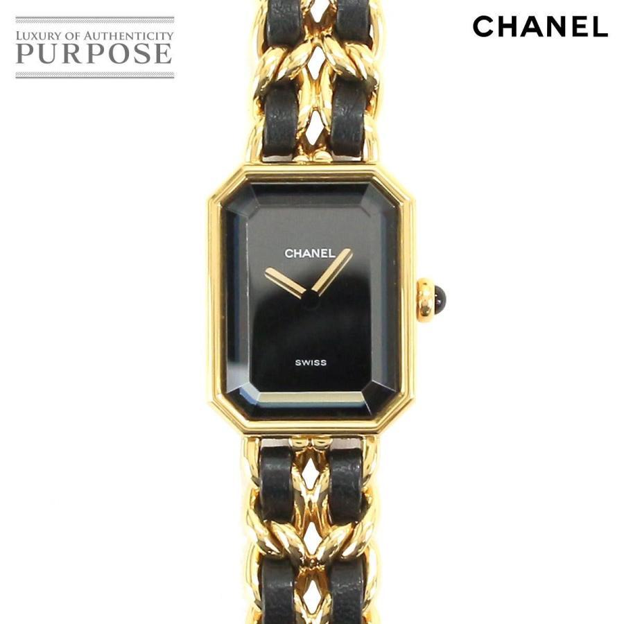 45569cff05 シャネル CHANEL 文字盤 プルミエール Lサイズ クォーツ H0001 レディース 腕時計 ブラック 黒 ブラック 文字盤 クォーツ ウォッチ  :90070203:PURPOSEパーパス·ヤフー ...