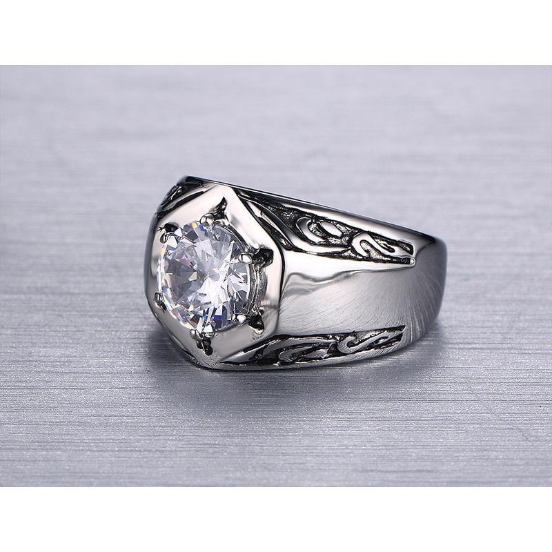 指輪 リング[ラッピング対応] PW 精良SUS316L製 ダイヤCZ シルバー銀色 キラキラ 魔法の六芒星 ダビデの星 ring /  幅14mm 14-28号 条件付送料無料61296|pwatch2014|02