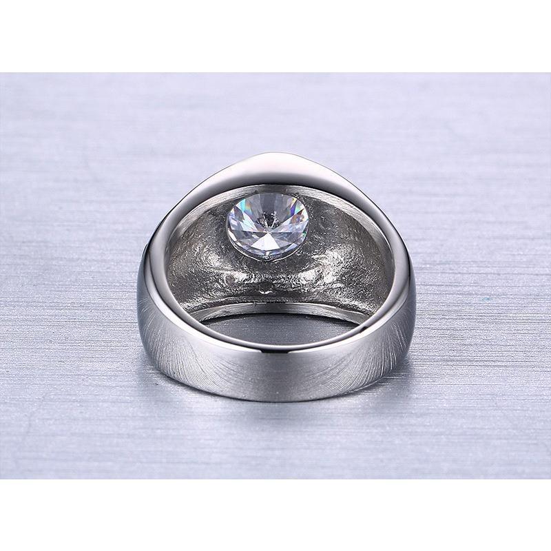 指輪 リング[ラッピング対応] PW 精良SUS316L製 ダイヤCZ シルバー銀色 キラキラ 魔法の六芒星 ダビデの星 ring /  幅14mm 14-28号 条件付送料無料61296|pwatch2014|03