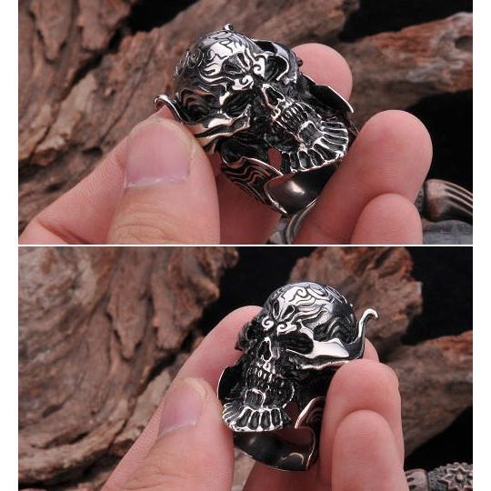 PW  チタンスチール 製牙狼ザルバ仕様 指輪 リング  21859 pwatch2014 04