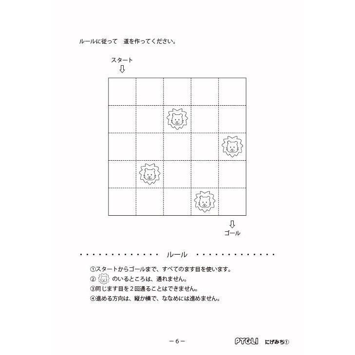 【6歳~】思考力パズル/思考力育成問題集セットA|pygmalion-hd|02