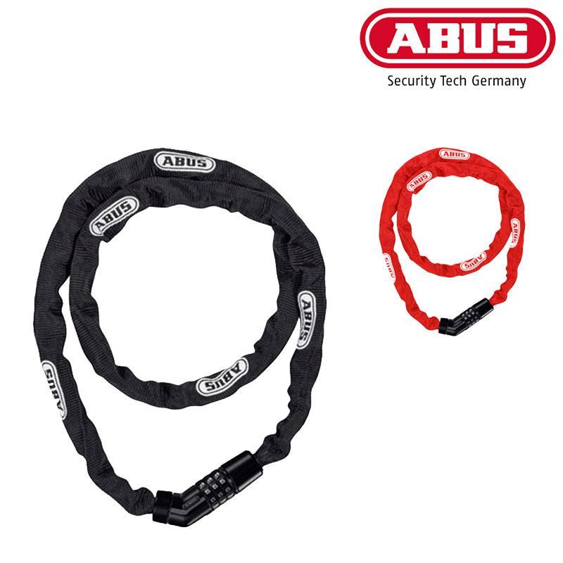 Negro Abus Unisex 4804/C//110/Steel-O-Chain
