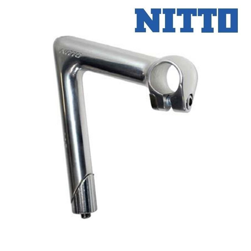 NITTO ニットー NPステム クランプ径 ハンドル26.0 コラム22.2 シルバー