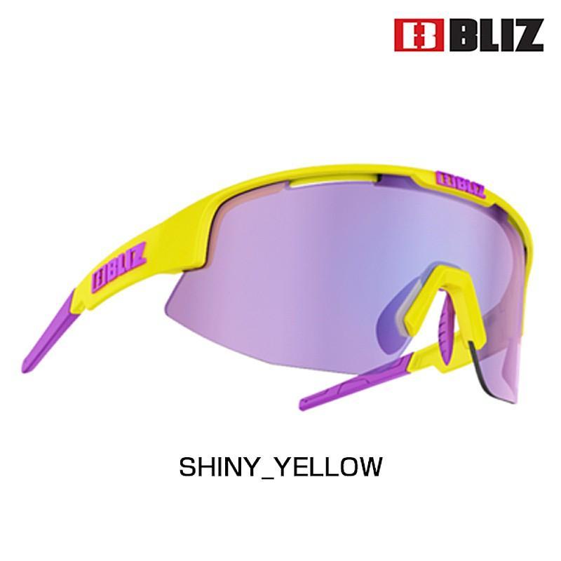 BLIZ ブリス MATRIX マトリックス LENS: 褐色 WITH 紫の MULTI 52804-63