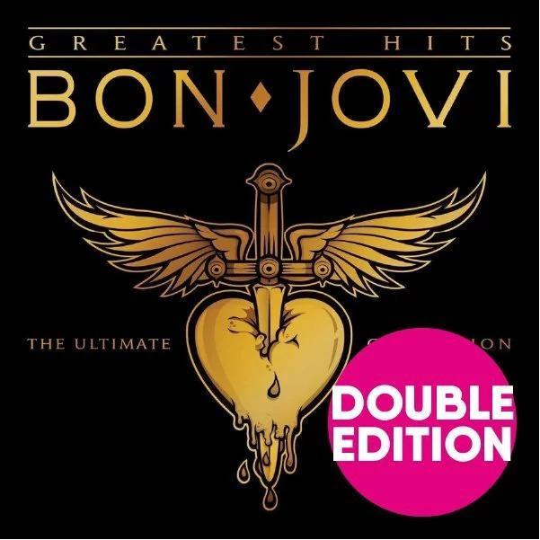 ボンジョヴィ ボンジョビ CD アルバム BON JOVI GREATEST HITS THE ULTIMATE COLLECTION 2枚組 輸入盤 ALBUM 送料無料 ボン・ジョヴィ qoo-online4-store