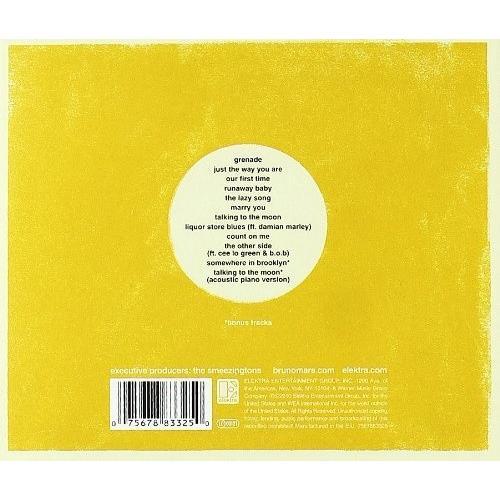 ブルーノマーズ CD アルバム BRUNO MARS DOO WOPS AND HOOLIGANS BONUS TRACK 輸入盤 ALBUM 送料無料 ブルーノ・マーズ|qoo-online4-store|02