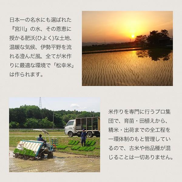 伊勢の大地・名水「宮川」の水が育てる  コシヒカリ5kg【松幸農産】 qu-shop 04