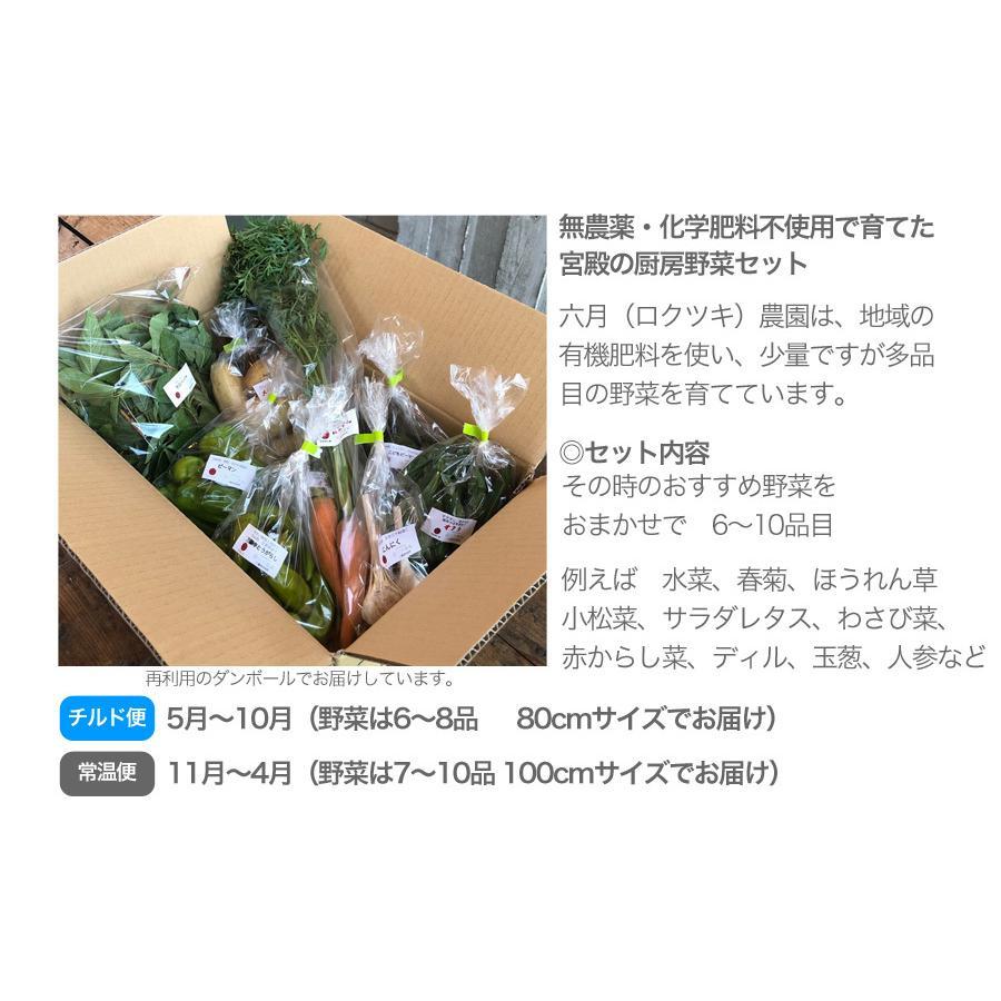 宮殿の厨房野菜セット【六月農園】|qu-shop|02