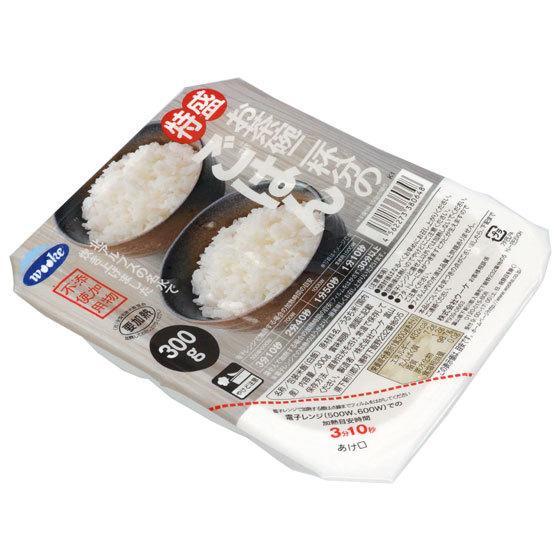 ウーケ 特盛ごはん 300g×24食 国産米100% ふんわりごはん レトルトご飯 quattroline 03
