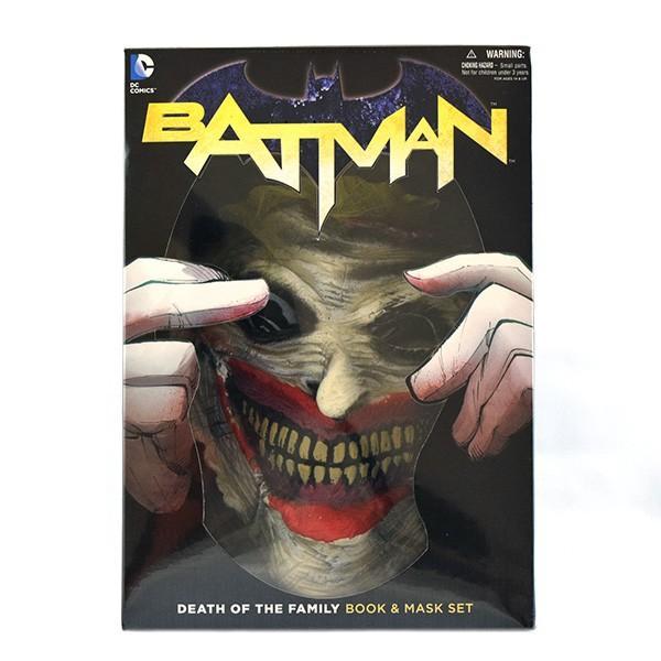 バットマン デス・オブ・ファミリー/ ブック 英語 &マスクセット quattroline