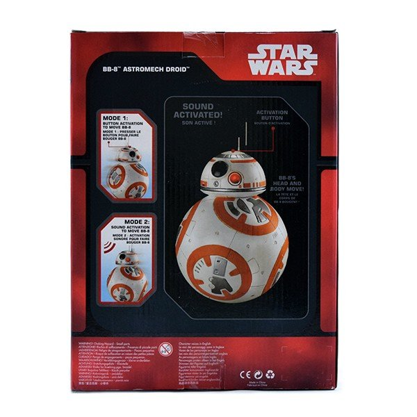 Disney Store Star Wars The Force Awakens Talking BB-8 Astromech Droid Figure