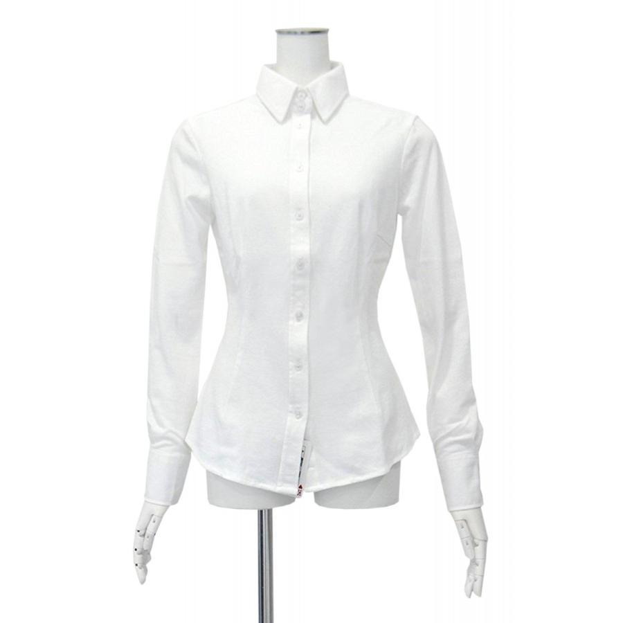 白ブラウス レディース シャツ 白シャツ 長袖 コットン100% ブラウス 白 無地 Sサイズ Mサイズ