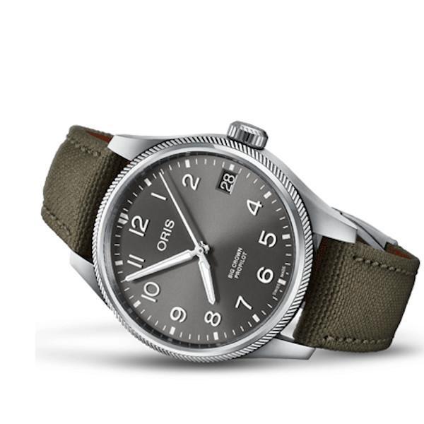 正規品 ORIS オリス ビッグクラウン パイロット メンズ腕時計 01 751 7761 4063-07 3 20 03LC|quelleheure-1|02