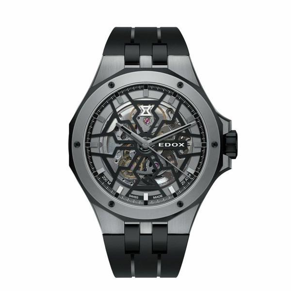 正規品 EDOX エドックス DELFIN デルフィン MECANO AUTOMATIC メカノ オートマティック 自動巻き メンズ腕時計 85303-357GN-NGN|quelleheure-1|02