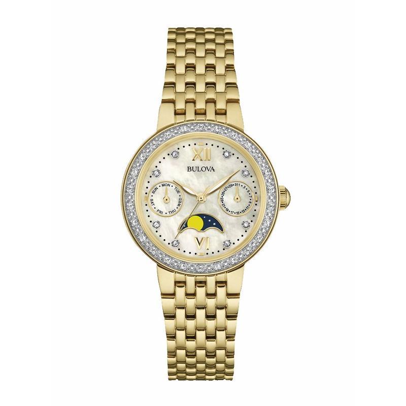 【楽天カード分割】 98R224 国内正規品 BULOVA[ブローバ]DIAMONDS [ダイヤモンド] レディース腕時計 国内正規品 送料無料 送料無料, BEARS MART:6b52320b --- airmodconsu.dominiotemporario.com