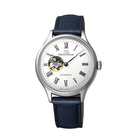 ORIENT STAR オリエントスター CLASSIC SEMI SKELETON 自動巻き 手巻き付 レディース腕時計 RK-ND0005S  |quelleheure-1