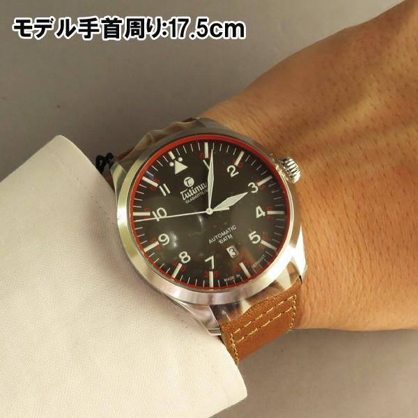 Tutima チュチマ Grand Flieger グランドフリーガー 自動巻き メンズ腕時計 6105-03  |quelleheure-1|11