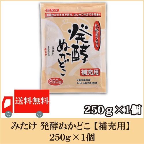 みたけ 男女兼用 発酵ぬかどこ 補充用 送料無料 ◆セール特価品◆ 250g