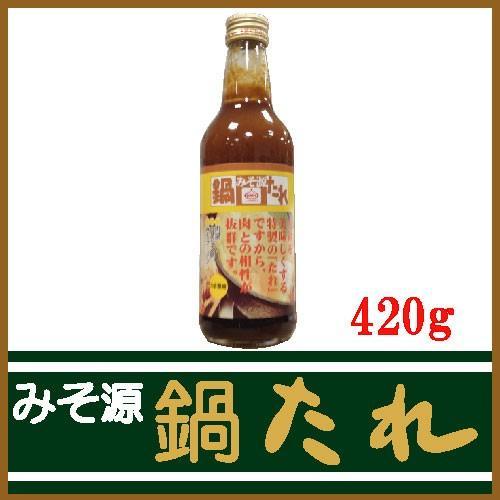 KNK 上北農産加工 スタミナ源のタレ みそ源鍋たれ 420g ×1本
