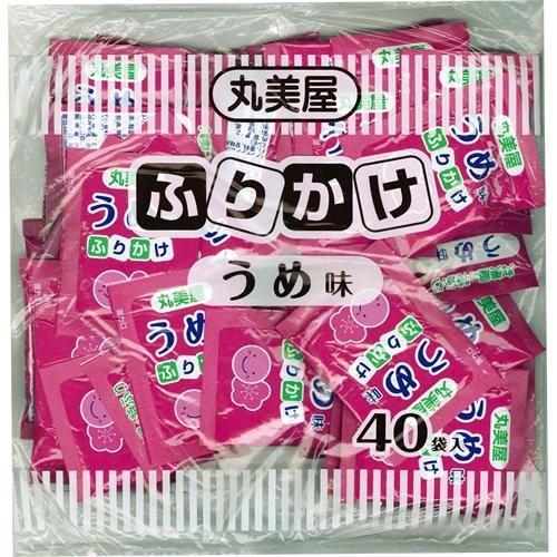 丸美屋 ふりかけ 特ふり うめ味 2.5g×40袋 業務用 送料無料 ポイント消化
