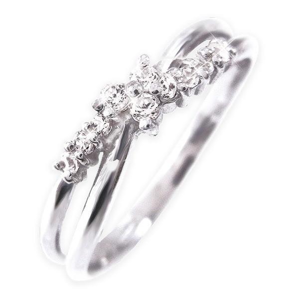 【高価値】 Pt100 ダイヤリング 指輪 11号, 辰野町 2e3f9808