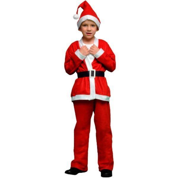 サンタ 衣装 キッズ 120 まとめ10着セット 〔 P×P ボーイズサンタクロース サンタコスチューム子供用 ジャケット&パンツ 5 - 7才向け 〕