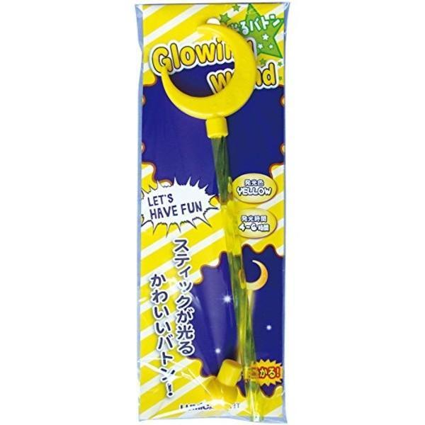 ハロウィン 光るバトン月 G85663 37-415〔12個セット〕