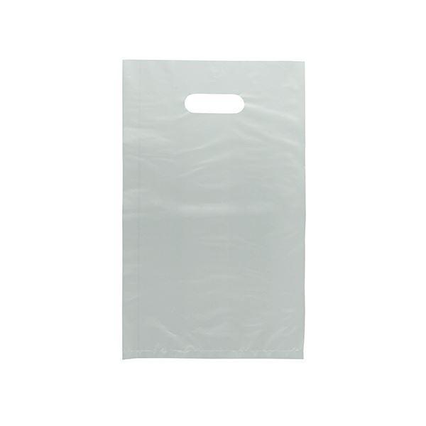 (まとめ) ハピラ ポリエチレン 透明手提げ袋HTBA4CL 1パック(50枚) 〔×10セット〕