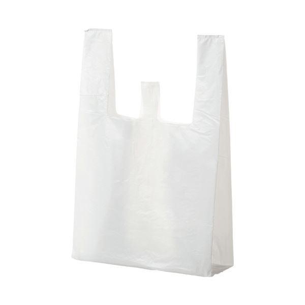 (まとめ) ジャパックス ランチバッグ エコタイプ大 乳白 RBF20 1パック(100枚) 〔×30セット〕