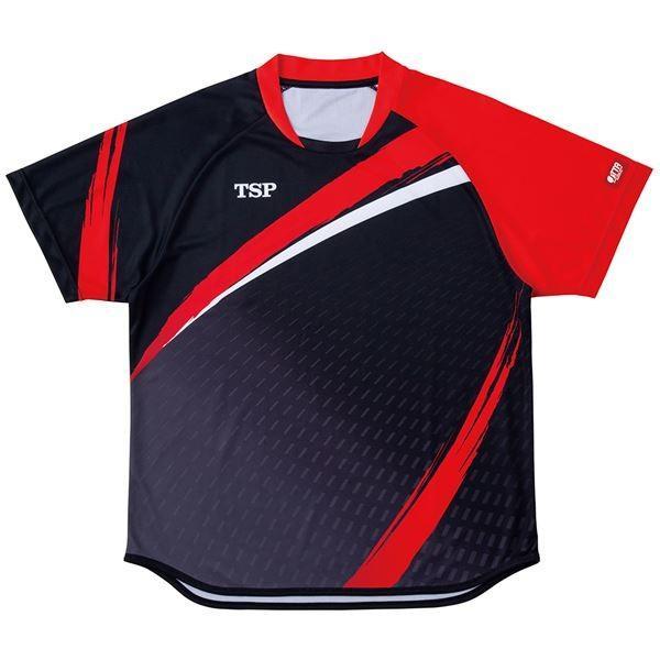 VICTAS TSP 卓球アパレル ゲームシャツ アルドーレシャツ 男女兼用 031430 ブラック XL