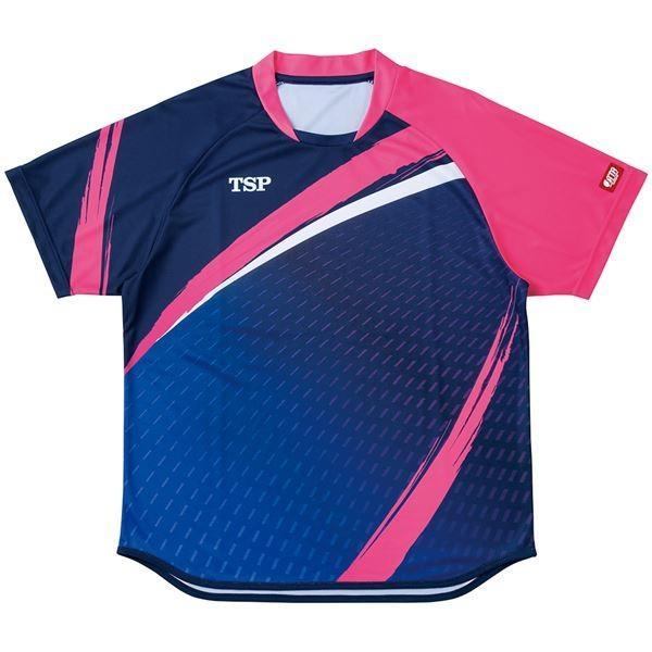 VICTAS TSP 卓球アパレル ゲームシャツ アルドーレシャツ 男女兼用 031430 ネイビー XS