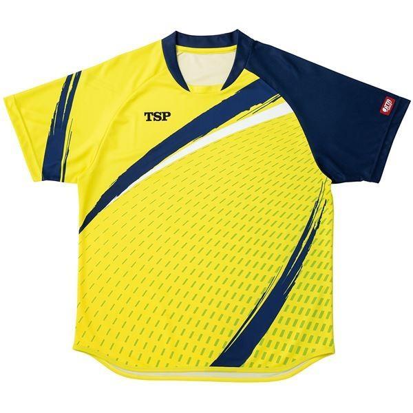 VICTAS TSP 卓球アパレル ゲームシャツ アルドーレシャツ 男女兼用 031430 ライム XS