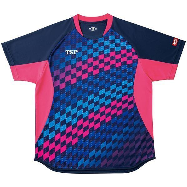 VICTAS TSP 卓球アパレル ゲームシャツ エテルノシャツ 男女兼用 031431 ネイビー XL