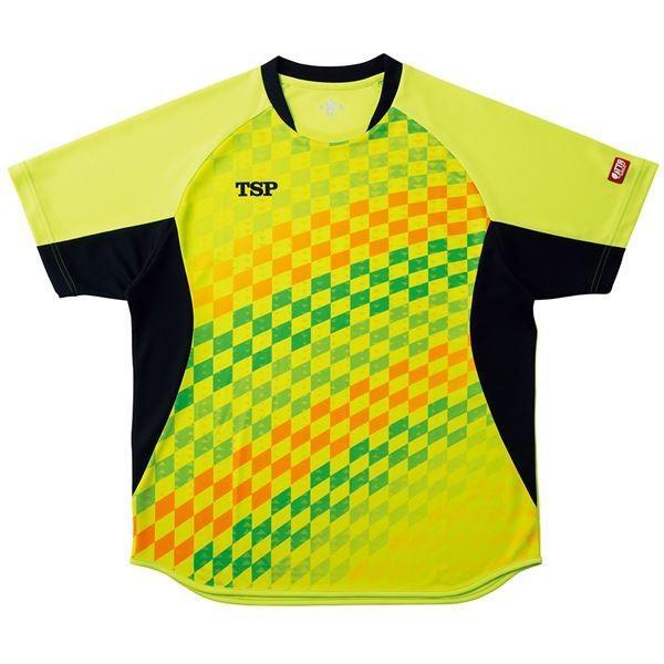 VICTAS TSP 卓球アパレル ゲームシャツ エテルノシャツ 男女兼用 031431 ライム M