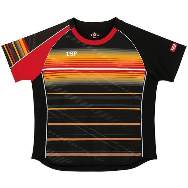 VICTAS TSP 卓球アパレル ゲームシャツ レディスクラールシャツ 女子用 032416 ブラック 2XL