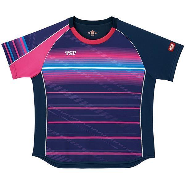 VICTAS TSP 卓球アパレル ゲームシャツ レディスクラールシャツ 女子用 032416 ネイビー L