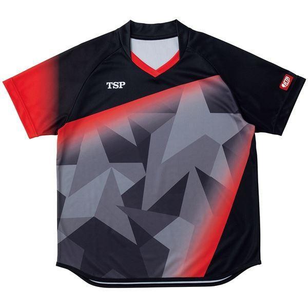 VICTAS TSP 卓球アパレル ゲームシャツ レディスアステルシャツ 女子用 032417 ブラック 2XL