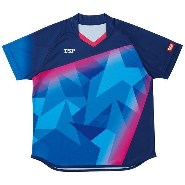 VICTAS TSP 卓球アパレル ゲームシャツ レディスアステルシャツ 女子用 032417 ネイビー 3XL