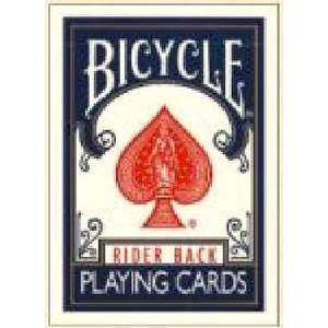 〔トランプ〕BICYCLE(バイスクル) ライダーバック ポーカーサイズ 〔ブルー〕