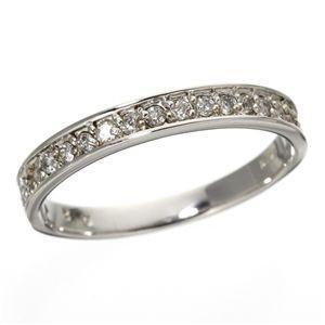 衝撃特価 0.2ct ダイヤリング 指輪 エタニティリング 19号, ニイハルムラ b19d1ca2