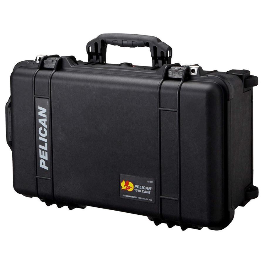 PELICAN(ペリカン) 中型防水ハードケース 1510HK ブラック 1510HKBK 27L