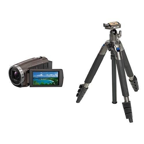 色々な ソニー SONY ビデオカメラ Handycam 光学30倍 内蔵メモリー64GB 光学30倍 ブロンズブラウンHDR-CX680 TI TI Handycam + SLIK, 白沢村:41944bba --- grafis.com.tr