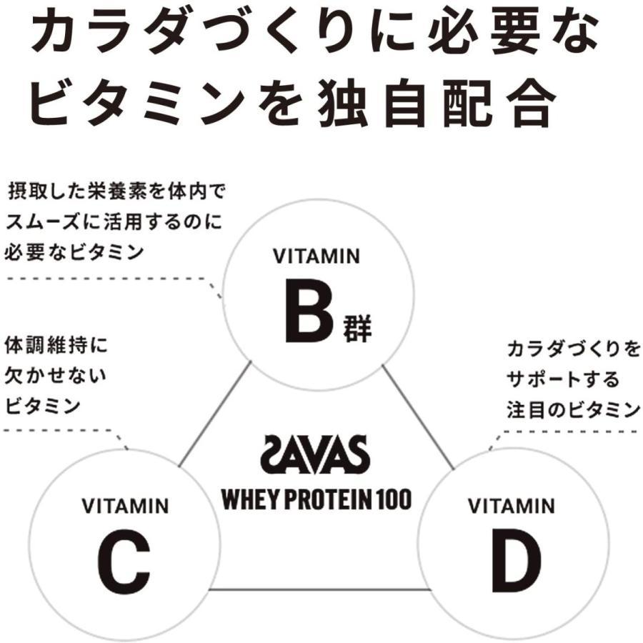 ザバス(SAVAS) ホエイプロテイン100+ビタミン リッチショコラ味 50回分 1,050g r-ainet 06