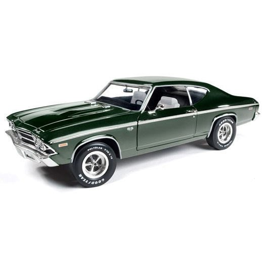 1/18 シェビー シェベル 1969 Chevy Chevelle SS 396 auto world アーテル ertl