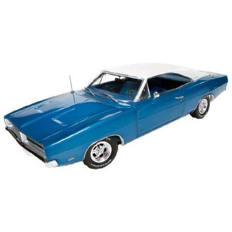 1/18 ダッジ チャージャー 1969 Dodge Charger 白い hat special auto world アーテル ertl