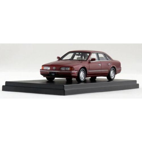 1/43scale ハイストーリー Hi Story Nissan Infiniti Q45 セレクションパッケージ 1990 バ−ガンディ 日産 インフィニティ