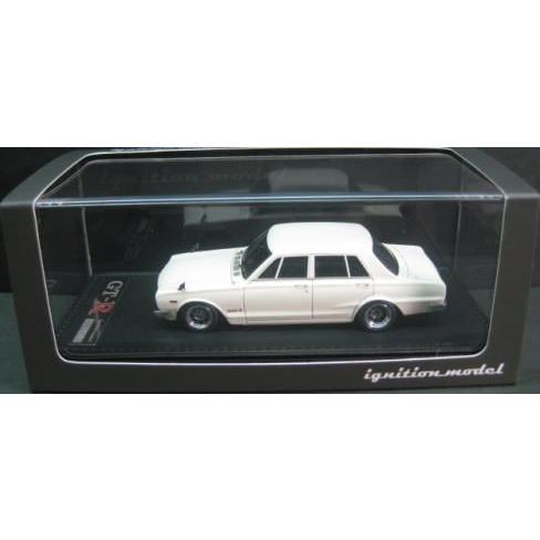1/43 日産 スカイライン Nissan Skyline 2000 GT-R PGC10 白い 1969 イグニッション モデル ignition model