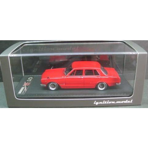 1/43 日産 スカイライン Nissan Skyline 2000 GT-R PGC10 赤 1969 イグニッション モデル ignition model