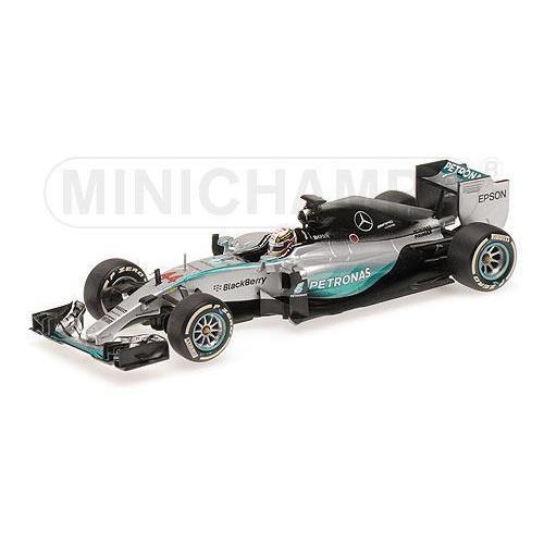 1/43 メルセデス ペトロナス ハミルトン Mercedes AMG Petronas F1 Team F1 W06 Hybrid L.Hamilton Australian GP Winner 2015 ミニチャンプス MINICHAMPS